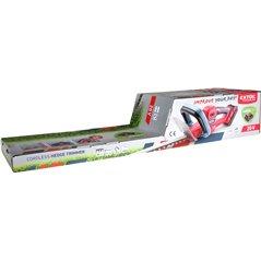 Nožnice na živý plot akumulátorové, bez aku a nabíjačky, lišta 510mm, EXTOL PREMIUM