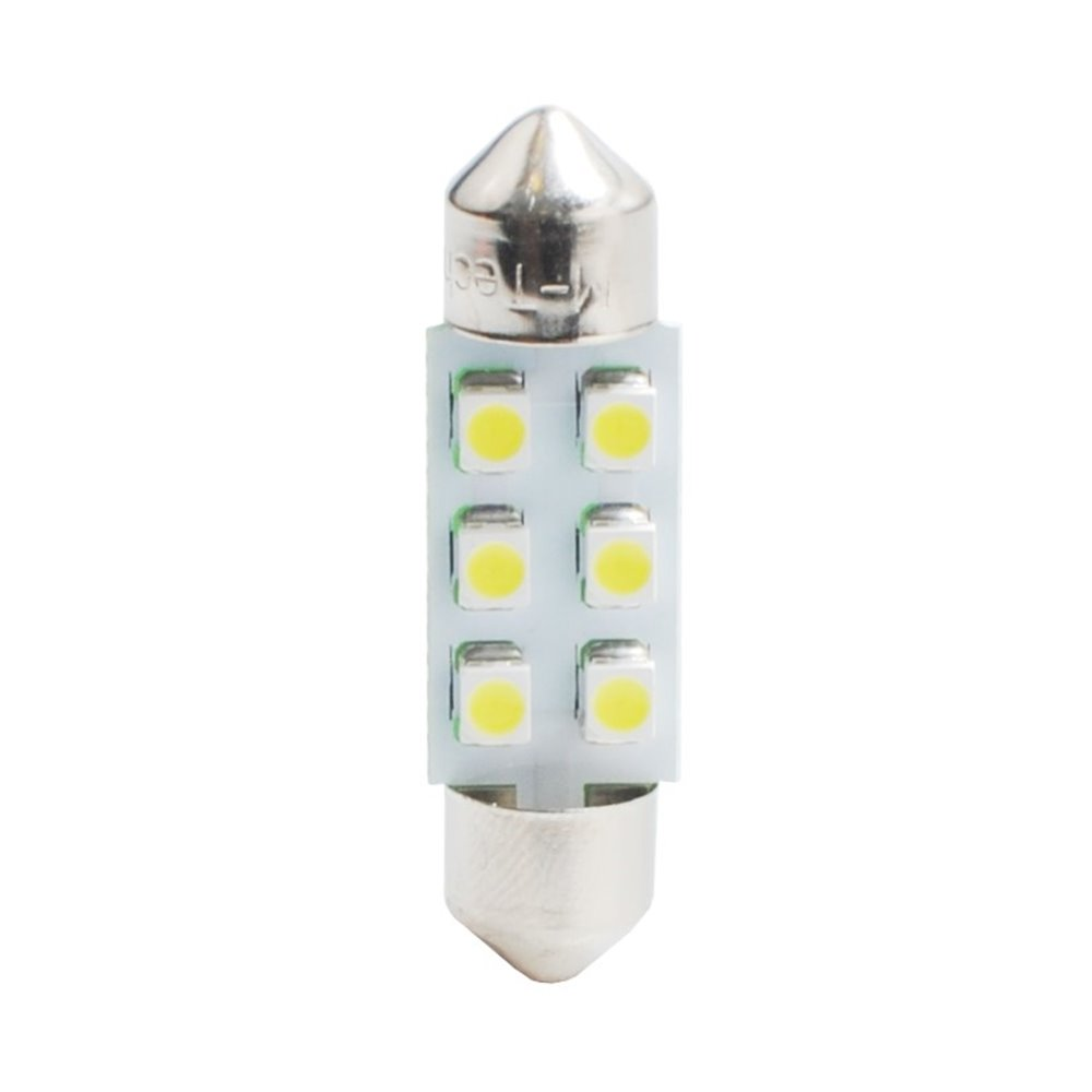 LED L028B - C5W 31mm 6xSMD3528 Blue