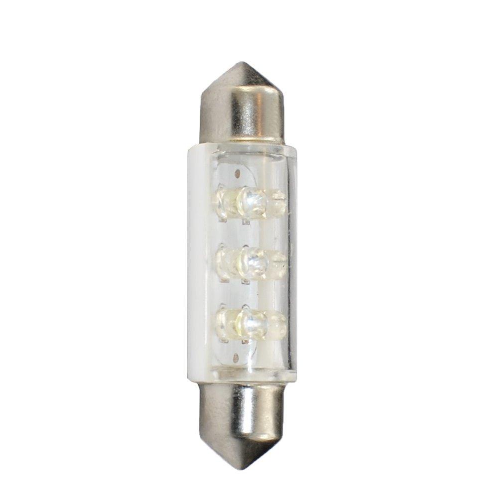 LED L946W - C5W 41mm 6LED 3mm White 24V
