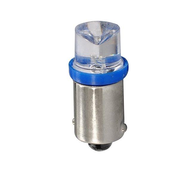 LED L907B - BA9s 24V Concave Blue