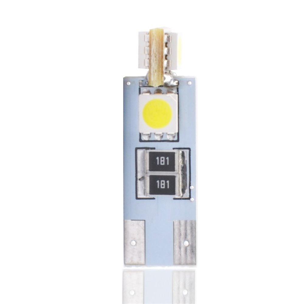 LED L302W - W5W 4xSMD5050 CANBUS White