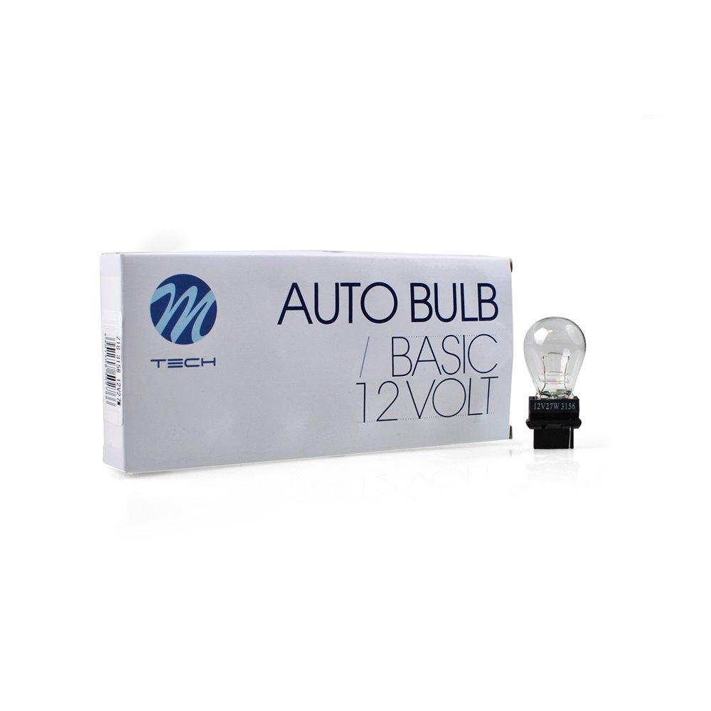 M-TECH bulb W2,5x16d 3156 P27W 27W 12V CLEAR