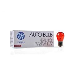 M-TECH bulb BAU15s PY21W 21W 12V AMBER
