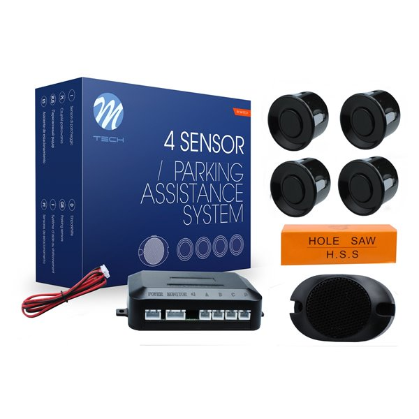 Parking assist system - CP7 with buzzer - black