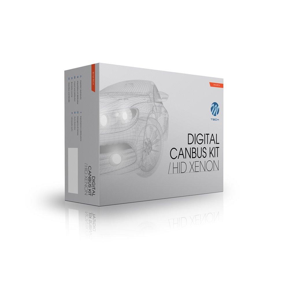 Xenon set CANBUS SLIM M-Tech AC H7 8000K