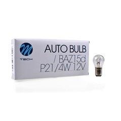 M-TECH bulb BAZ15d P21/4W 21/4W 12V CLEAR