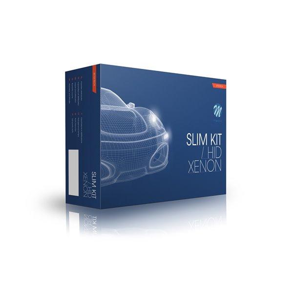 Xenon set M-Tech SLIM BASIC AC H3 8000K