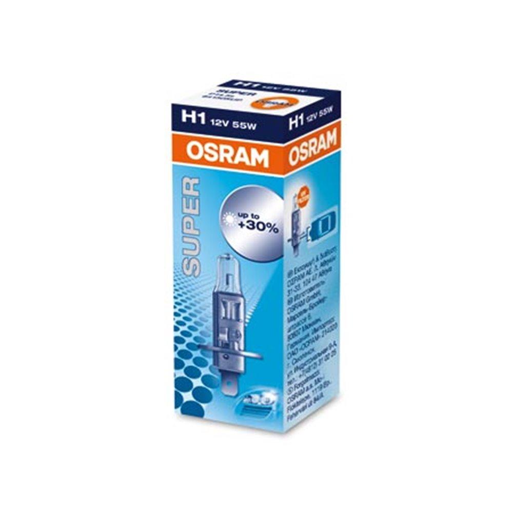 Halogen OSRAM SUPER 64150SUP P14,5s 55W 12V H1