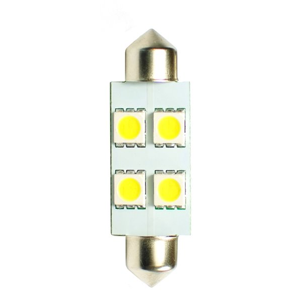 LED L072W - C5W 41mm 4xSMD5050 White