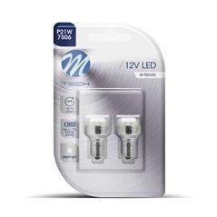 Blister 2x LED L034W - BA15s 12LED 5mm White