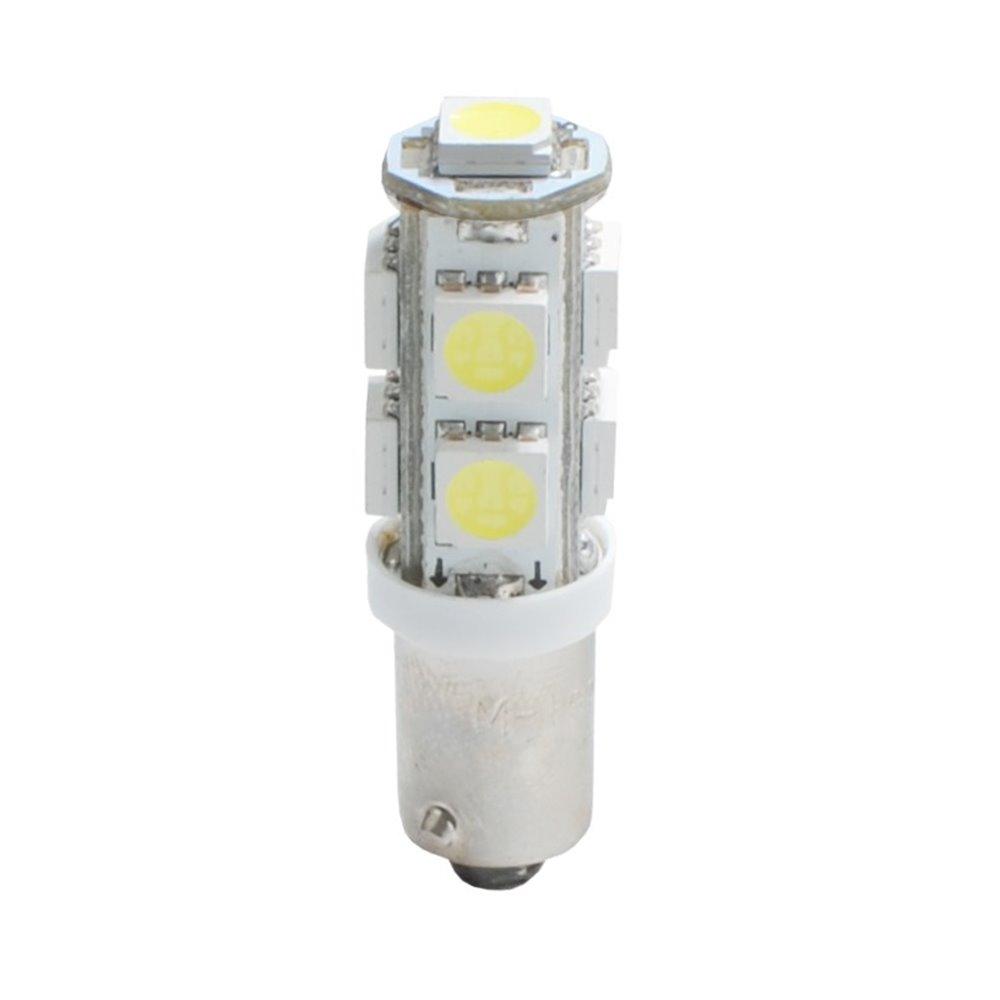 LED L084W - BA9s 9xSMD5050 White