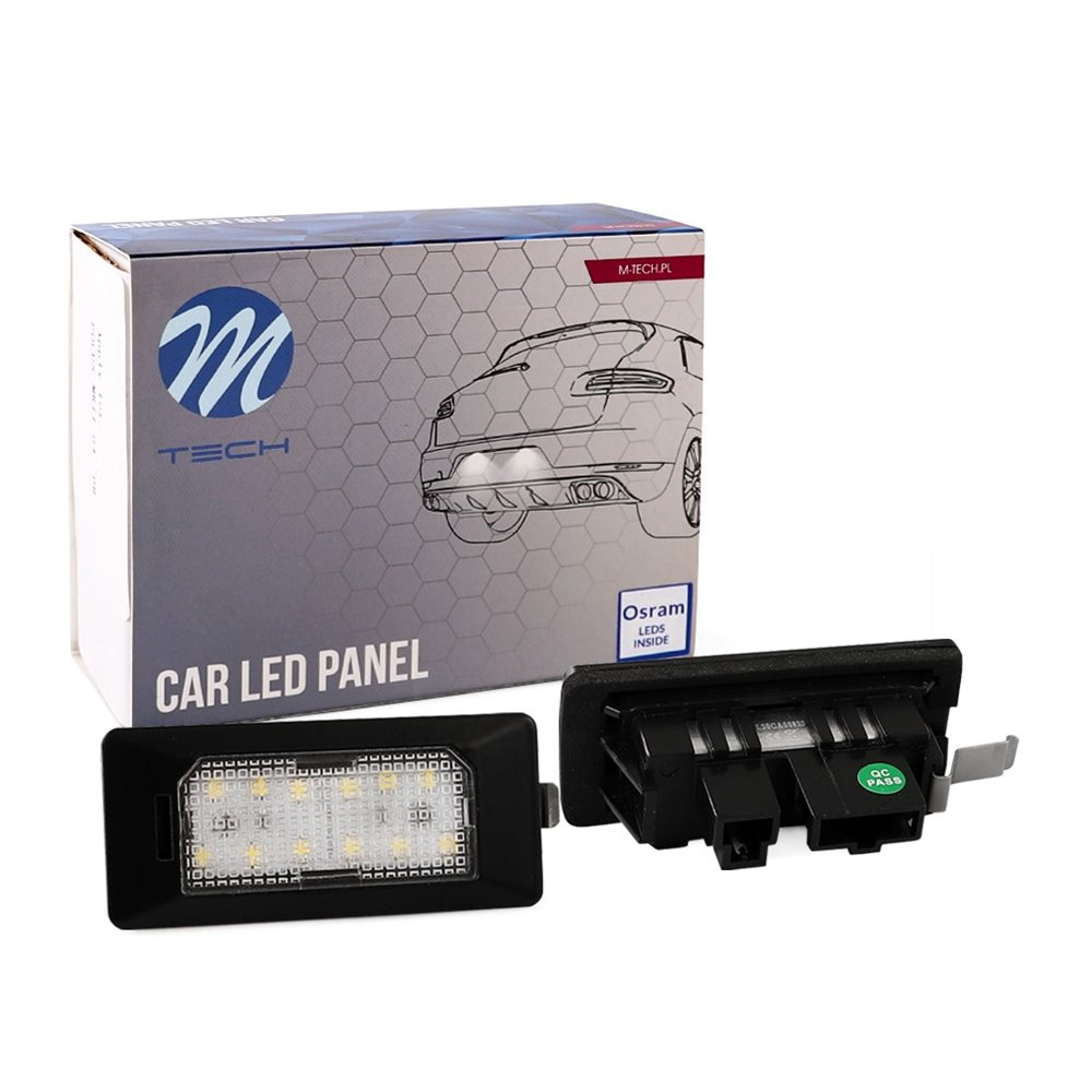 LED license plate light LD-ADPN 12xSMD2835
