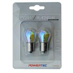 Powertec Platinum BAU15s PY21W S25 21W 12V RAINBOW Blister