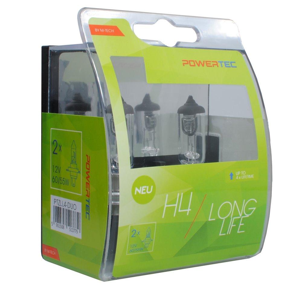 Powertec Long Life H4 12V DUO