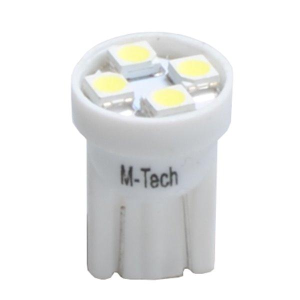 LED L917W - W5W 4xSMD3528 White