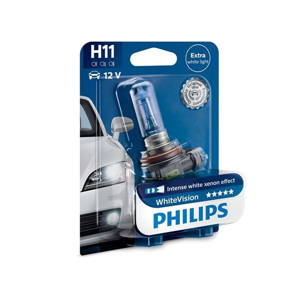 Philips White Vision H11 12V 55W 01B