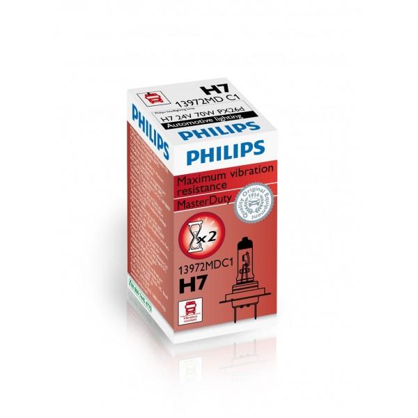 Philips H7 MasterDuty PX26d 24V 70W C1