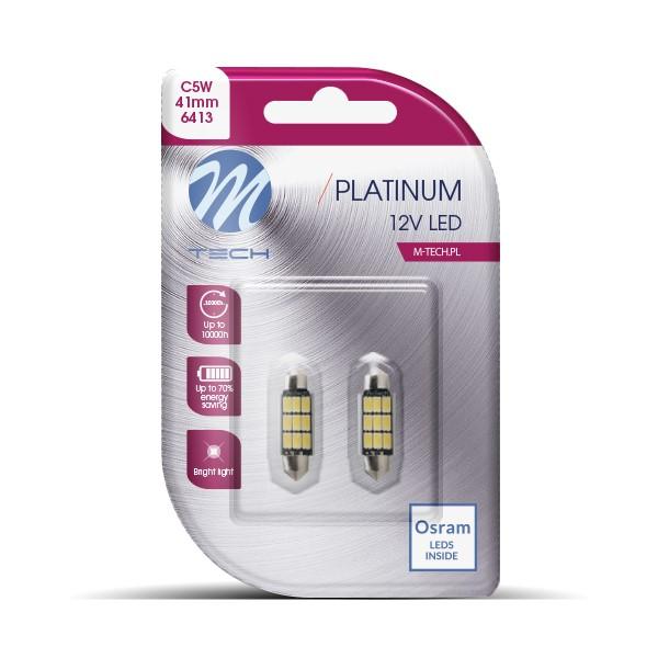 Blister 2x LED L816WW - C5W 41mm 9xSMD5630 Warm White