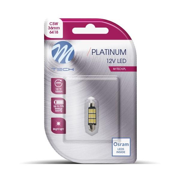 Blister 1x LED L815WW - C5W 36mm 9xSMD5630 Warm White