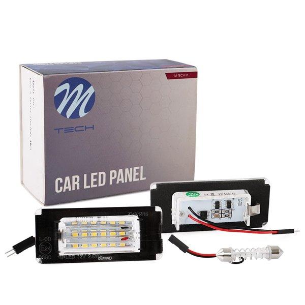 LED license plate light LP-R56 18xSMD2835 - NO E-MARK