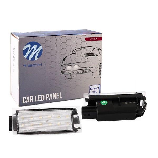 LED license plate light LP-RN06 12xSMD2835 - NO E-MARK