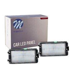 LED license plate light LP-STO8 18xSMD2835 - NO E-MARK