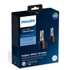 Philips LED Fog White 12794 UNI 12V9W PGJ19-1/2/3 X2