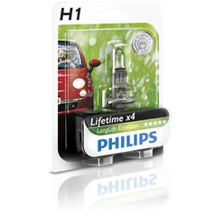 Philips H1 LongLife EcoVision 12V55W P14,5s B1