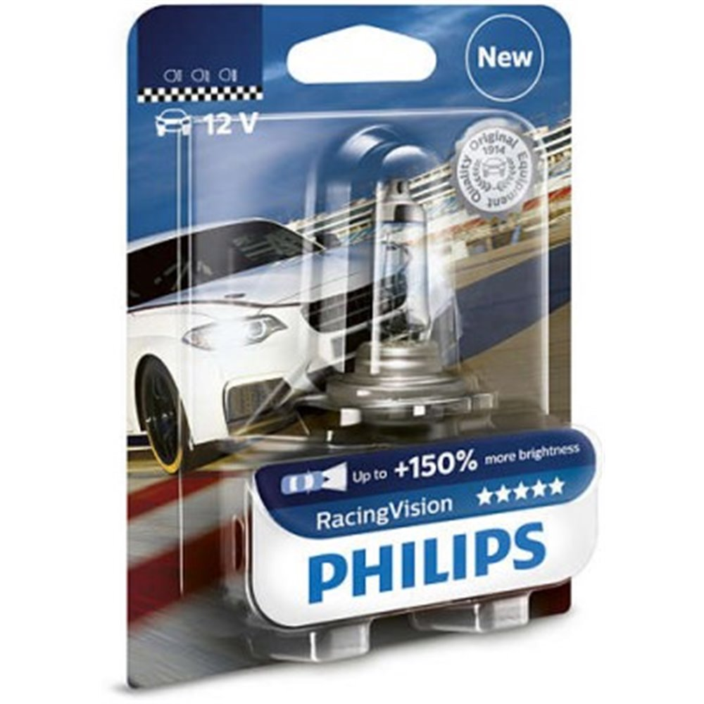Philips H4 RacingVision 12V60/55W P43t-38 B1