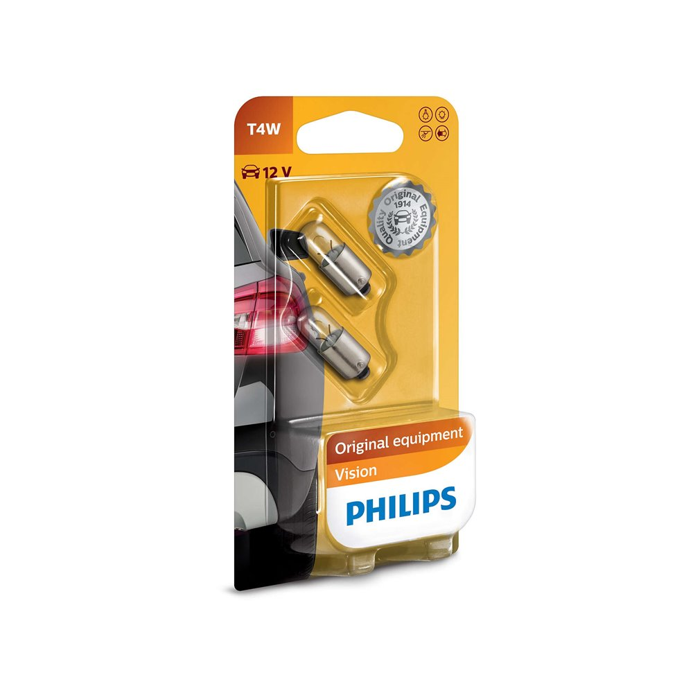 Philips T4W 12V4 BA9s B2