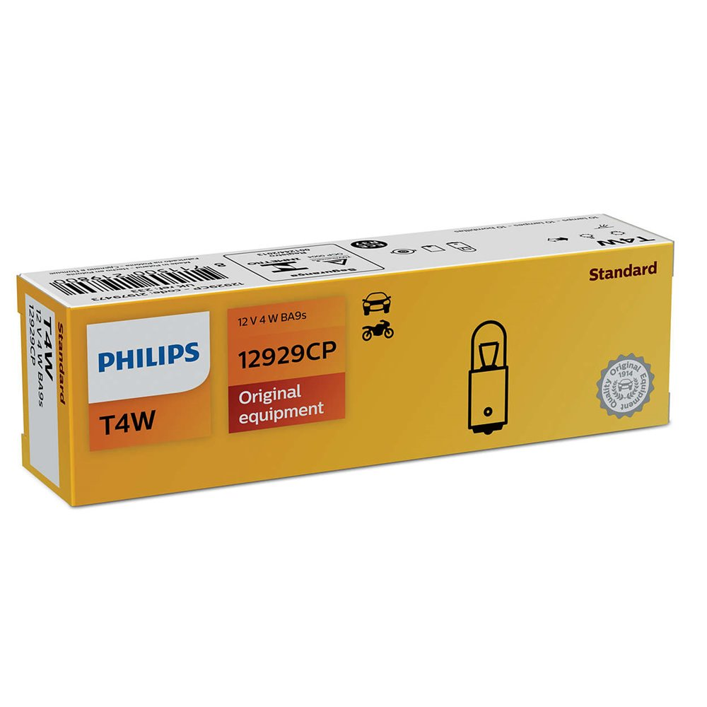 Philips T4W 12V4 BA9s CP