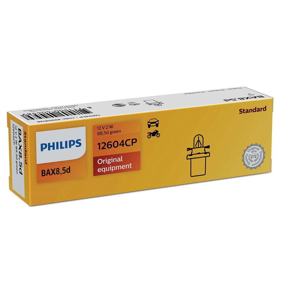 Philips B8,5D green 12V2W B8,5d green CP