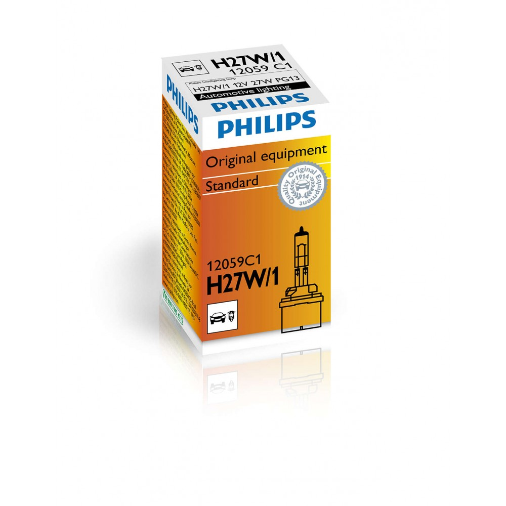 Philips H27W/1 12V27W PG13 C1