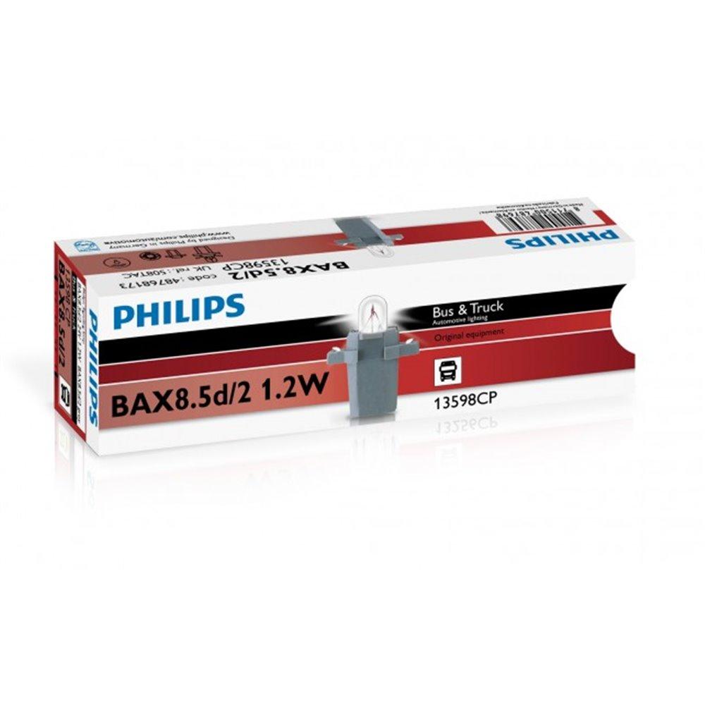 Philips Bax 8,5d/2 grey 24V1.2W BAX8,5d/2 grey CP