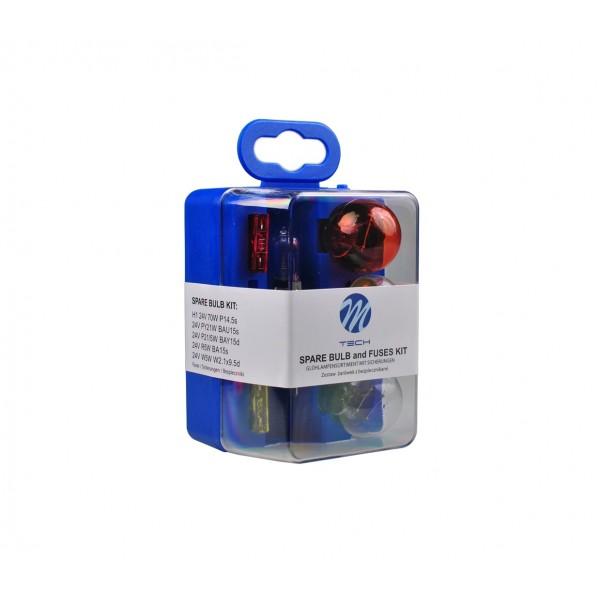 M-Tech spare bulb set H1 24V