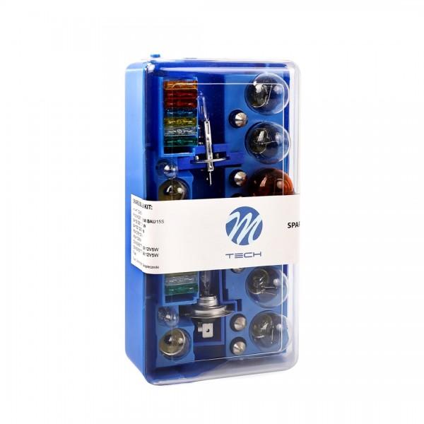 M-Tech spare bulb set H1+ H7 12V