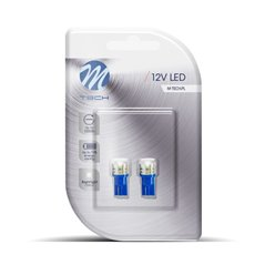 Blister 2x LED L015B - W5W HP 1W Blue