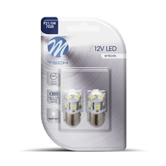 Blister 2x LED L089W - BAY15d 8xSMD5050 White