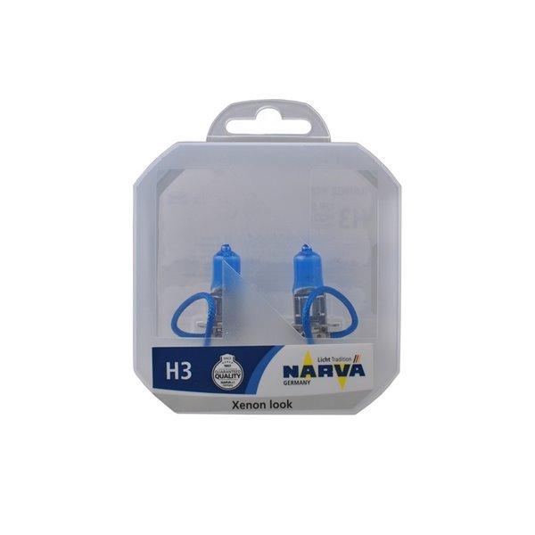 NARVA SET H3 RPW PK22s 55W 12V