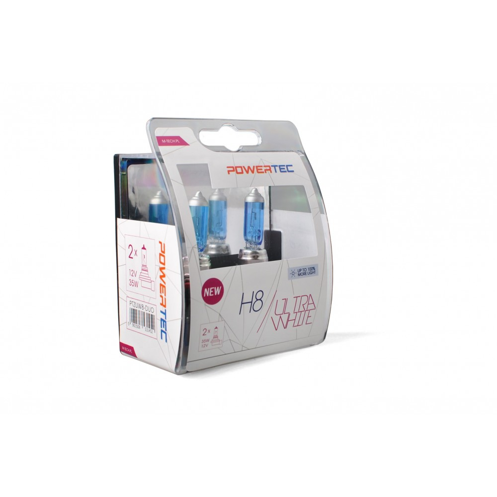 Powertec UltraWhite H8 12V DUO