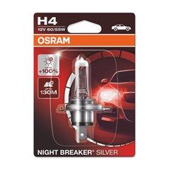 NIGHT BREAKER® SILVER H4 01-Blister