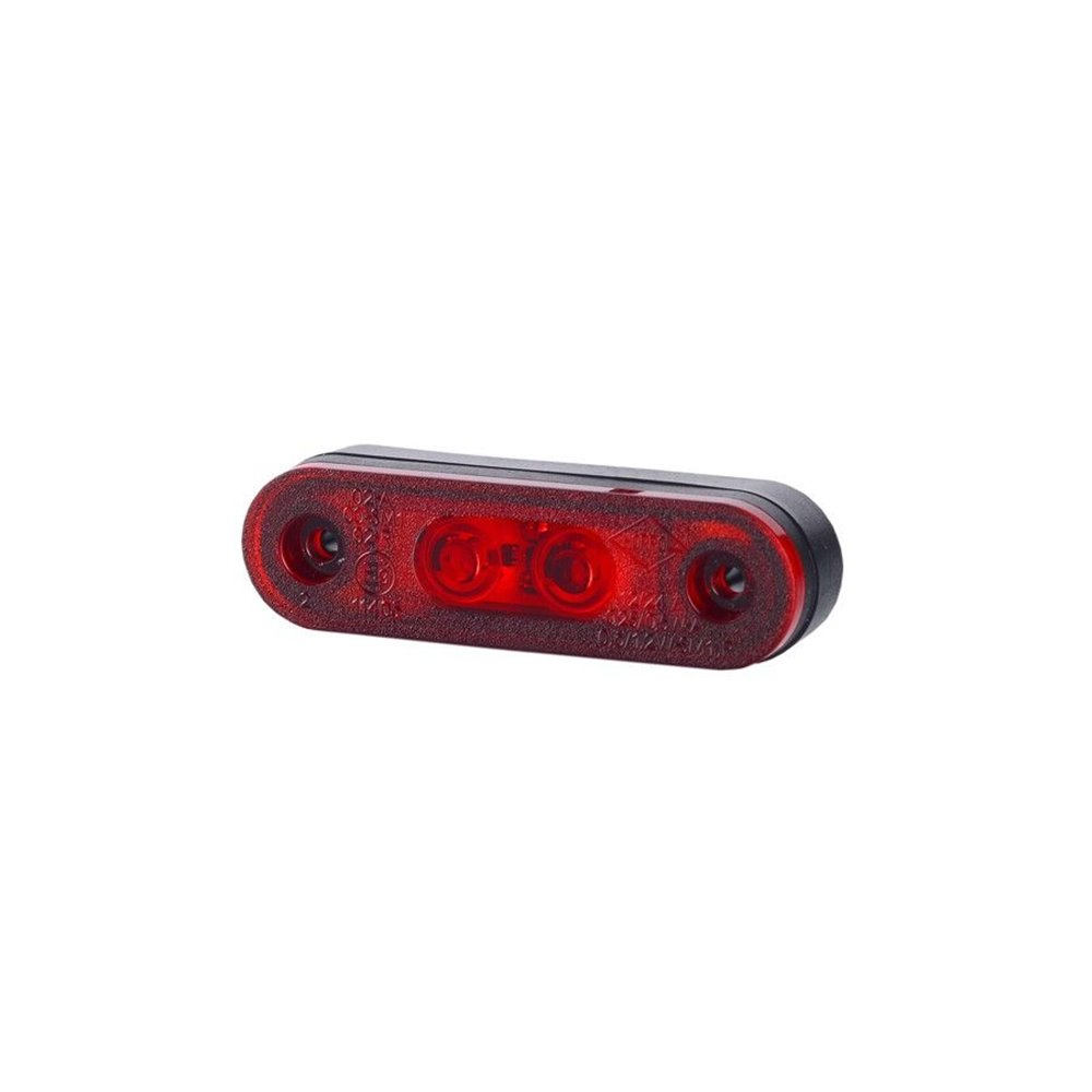 HORPOL LED marker - HOR72 LD958 red 12/24V ECE