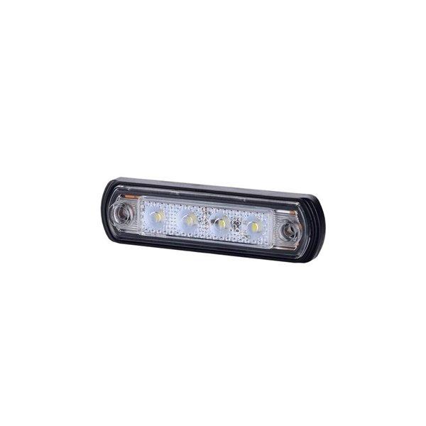 HORPOL LED marker - HOR65 LD675 orange with reflector 12/24V ECE