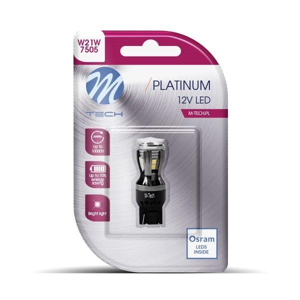 Blister 1x LED L822W - T20 single beam 14x2835SMD CANBUS 12-24V White