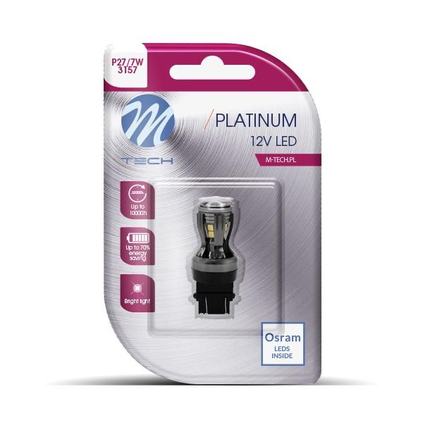 Blister 1x LED L825W - 3157 12-24V 14x2835SMD CANBUS 12-24V White