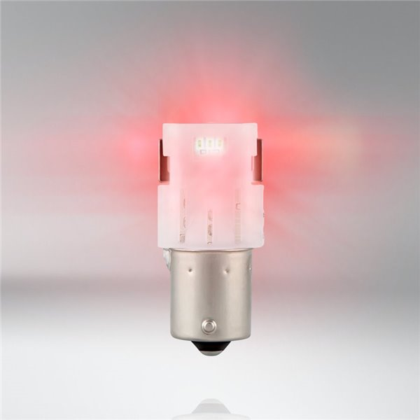 "Osram LEDriving SL ≠ ""P21W"" Red BA15S 12V 1,4W 7458R-02B"