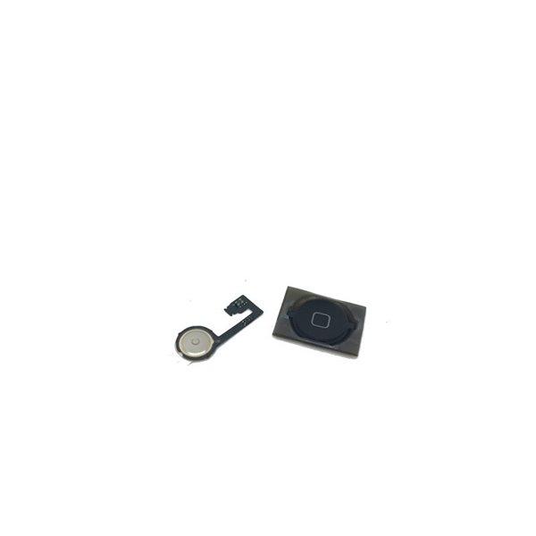 Iphone 4s Home button čierne flex button komplet