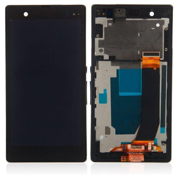 LCD a dotyk s rámom Sony Xperia L36H, Z-C6603