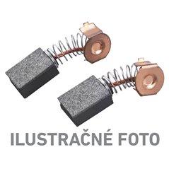 Uhlíky 2ks, 10,5x5,5x5,5mm, pre 407114 (Brúska vibračná), EXTOL CRAFT